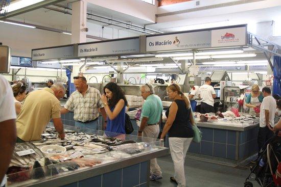 Portimão Municipal Market: Zona de pescados y mariscos