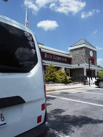 Colombia, MD: Lunch at Red Lobster, Columbia, MD