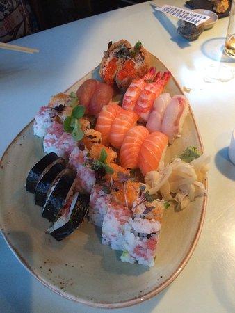 Rungsted, Denemarken: Great sushi