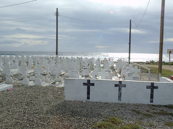 Ebeye Island, جزر مارشال: Ebeye east shore