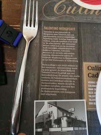 Margraten, هولندا: Talentino = sfeer en.superlekker eten