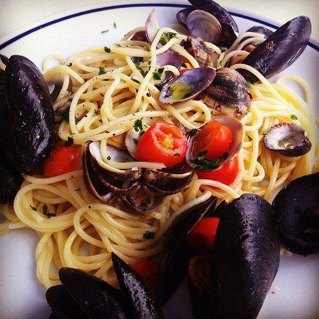 Camping Acqua Dolce : spaghetti allo scoglio