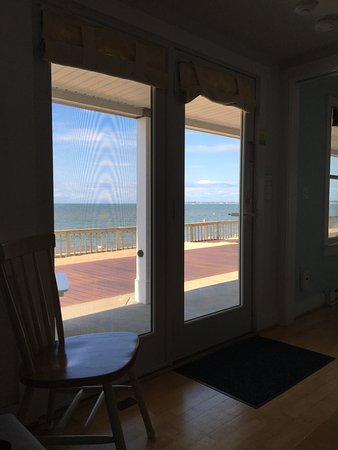 Crow's Nest Resort: View from the living room