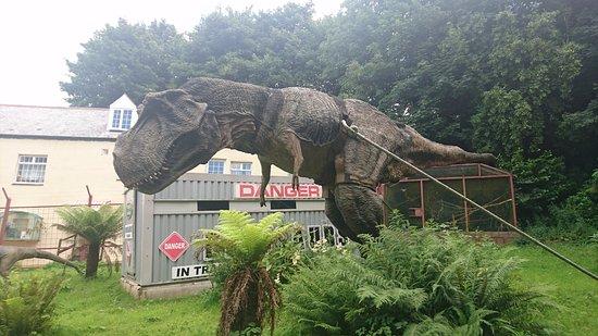 Ilfracombe, UK : dinosaur