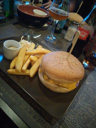Cerro Maggiore, Italien: cheese burger ottimo