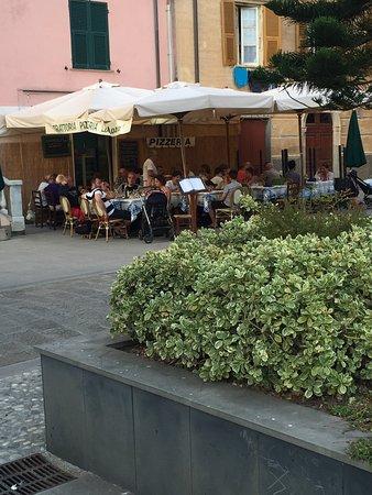 """Photo of Italian Restaurant Trattoria Pizzeria """"La Marina"""" at Piazza Garibaldi 30, Monterosso al Mare 19016, Italy"""