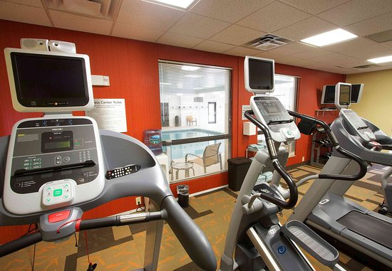 Blacksburg, Virginie : Fitness Room - Cardio Equipment