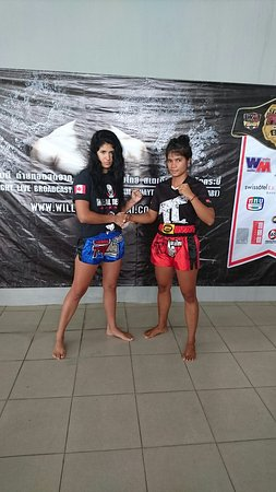 Cherngtalay, Thailandia: Sitsongpeenong Muay Thai Training Phuket