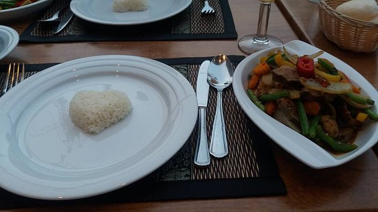 Aarschot, เบลเยียม: Thaise keuken zeer lekker