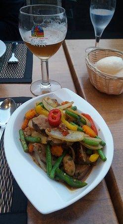Aarschot, เบลเยียม: mooi gepresenteerd met de juiste smaken