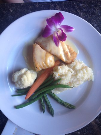 Chefusion: Pan fried sea bass and lemon risotto