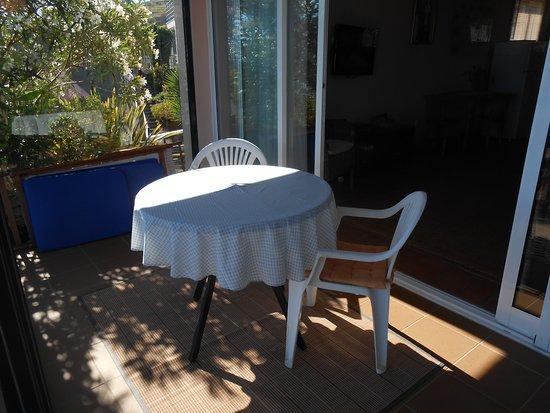 Estreito da Calheta, Portugal: veranda