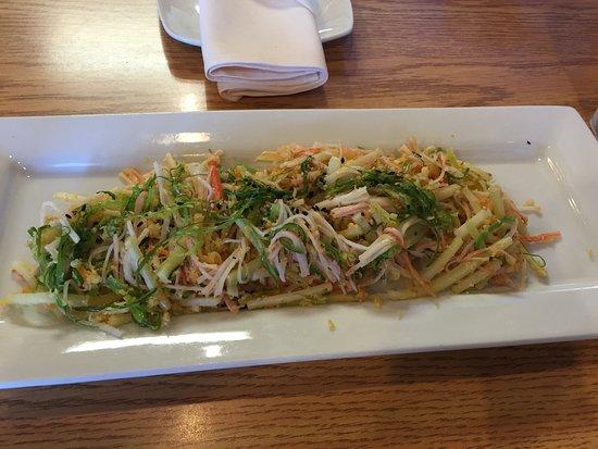 Lenexa, KS: On the house salad!!!