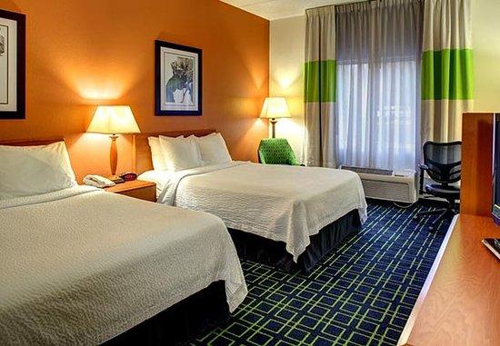 Fletcher, Karolina Północna: Double/Double Guest Room