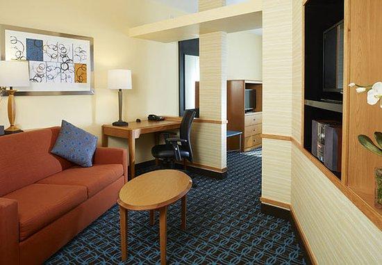 Lithonia, Geórgia: King Studio Suite Living Area