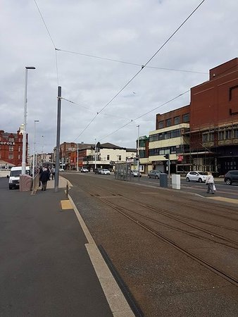 Ma Kelly's Central: Blackpool sea front