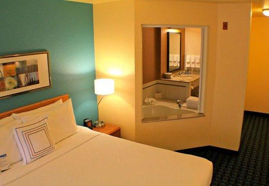 Yakima, Waszyngton: King Spa Guest Room