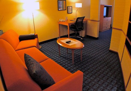 Yakima, Waszyngton: Suite Living Area