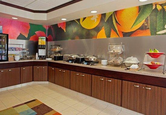 Romulus, Μίσιγκαν: Breakfast Buffet