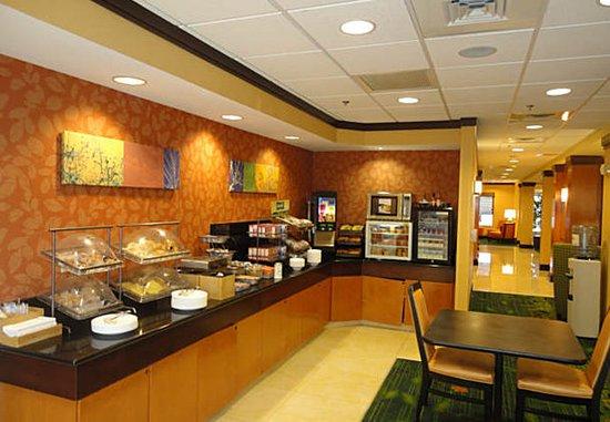 Archdale, Carolina del Norte: Breakfast Area