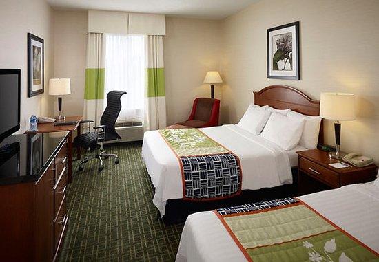 Fairfield Inn Toronto Oakville: Queen/Queen Guest Room
