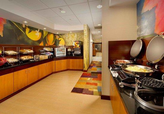 Germantown, MD: Complementary hot breakfast buffet