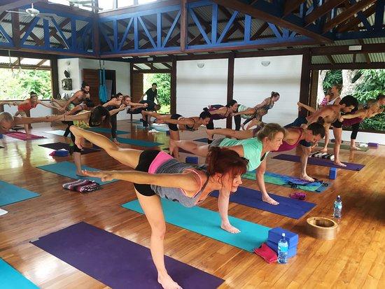Blue Osa Yoga Retreat and Spa: The Yoga Deck at Blue Osa