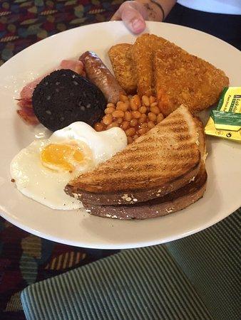 Paisley, UK: classic breakfast