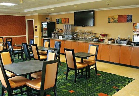 Princeton, IN: Breakfast Area