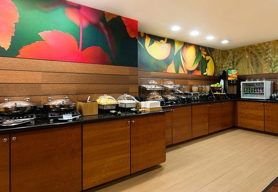 Orangeburg, Güney Carolina: Breakfast Buffet