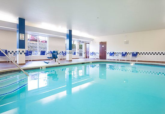 Roseville, Καλιφόρνια: Indoor Pool