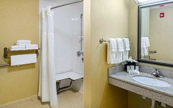 Hilton Garden Inn Augusta: Accessible Room Roll-In Shower