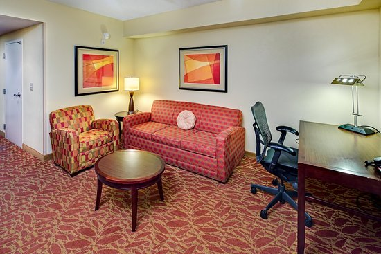 Hilton Garden Inn Augusta: Suite Living Area
