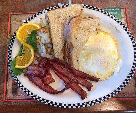 Chubbuck, ID: Bacon & eggs