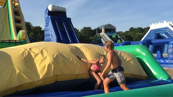 Cape Cod Water Park Inflatable