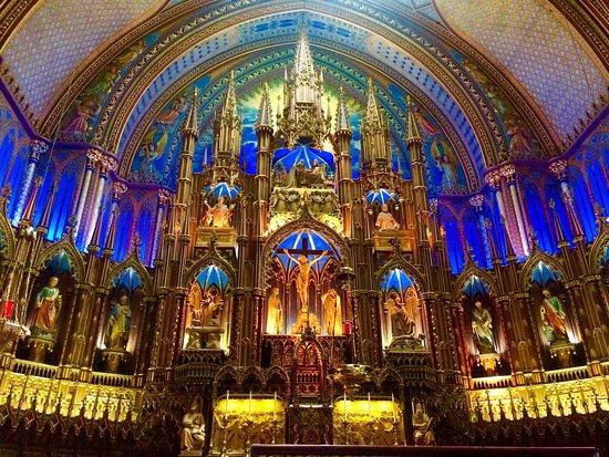 Montreal, Canadá: Notre-Dame Basilica