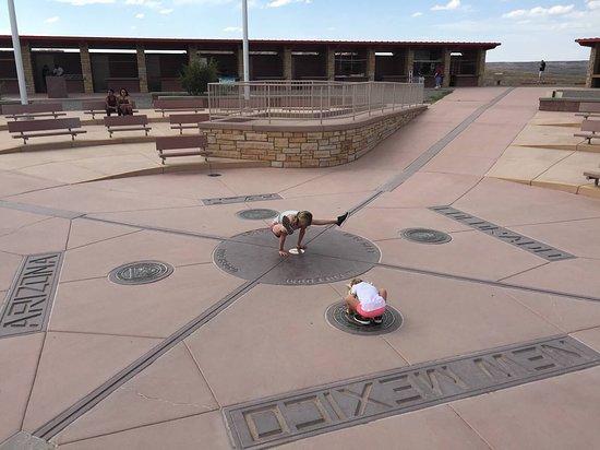 Teec Nos Pos, AZ: Four Corners Monument