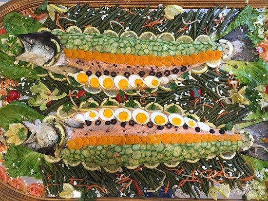 La Conchiglia Hotel : salmone in BellaVista