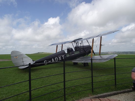 Shaftesbury, UK: DH Tiger Moth