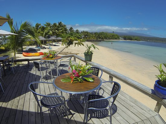Savaii Lagoon Resort: Restaurant Deck