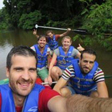 Tortuguero, Kostaryka: arriba ese remo! :)