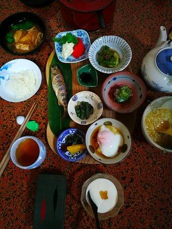 Kinki, Japonia: food at totsukawa onsen