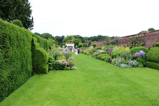 Northwich, UK: Arley Hall & Gardens