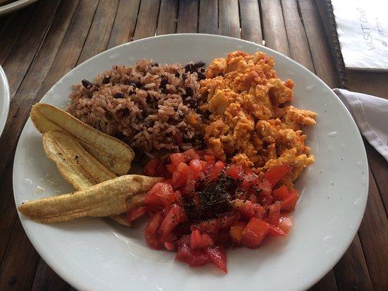 Santa Cruz, Nicaragua: $2 typical breakfast