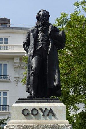 Francisco de Goya Statue