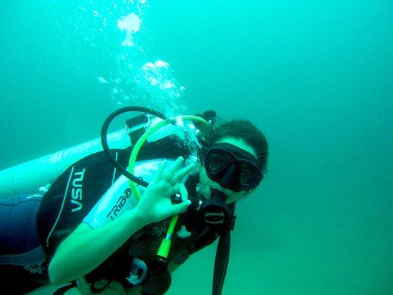 Drake Bay, Costa Rica: Deyanira, our team, diving