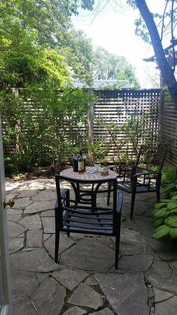 Jordan, Canadá: The Rittenhouse Suite private garden
