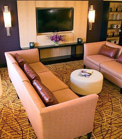 أوكلاند ماريوت سيتي سنتر: Lobby Sitting Area