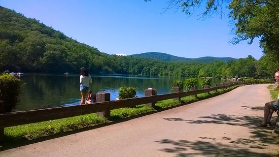 Bear Mountain, Nova York: The lake