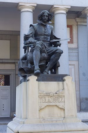 La estatua de Velazquez
